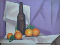 Oranges and Bottle