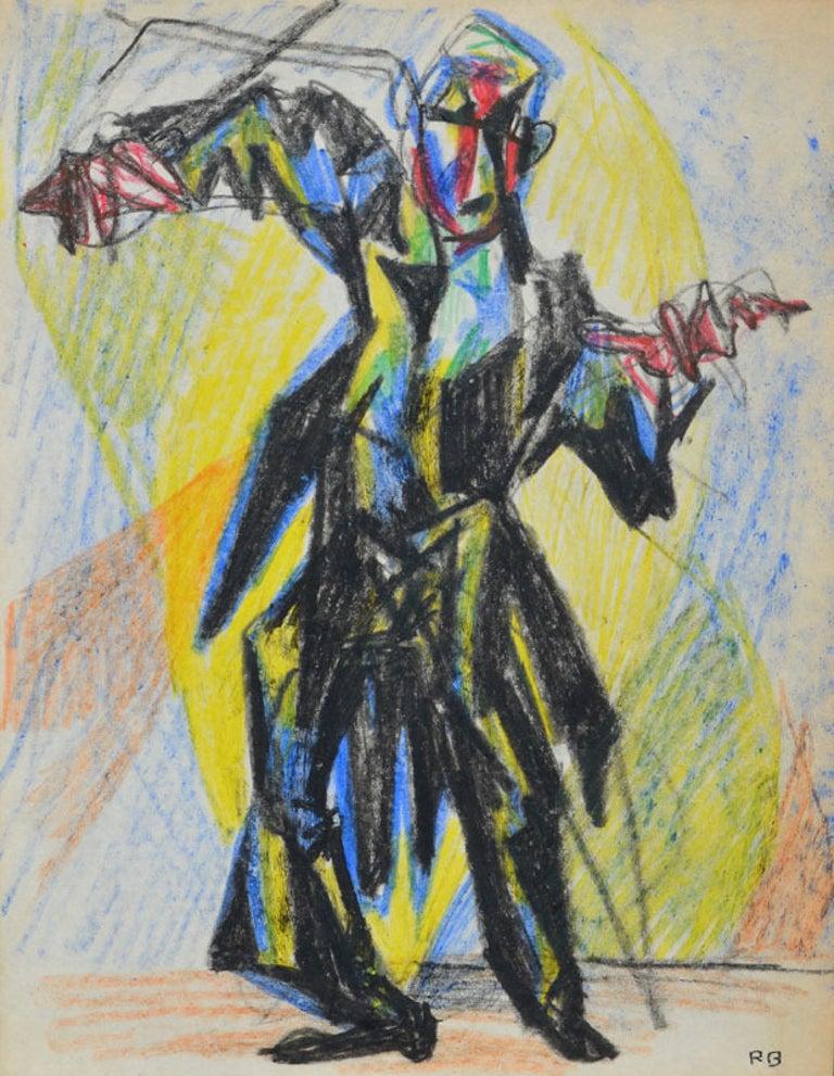 Ron Blumberg Figurative Art - The Conductor