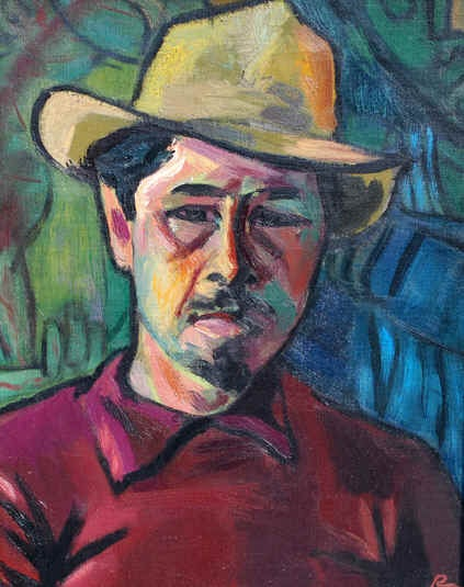 Self Portrait - The Red Shirt