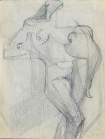 Cubist Figure