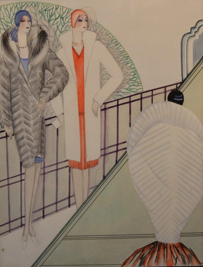 Thelma Terrell Figurative Painting - Femmes Fatal