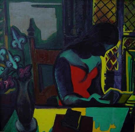 Atelier DeRoux - Painting by Antoine Deroux