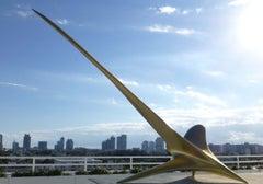 Twin Bird V - Resin Sculpture