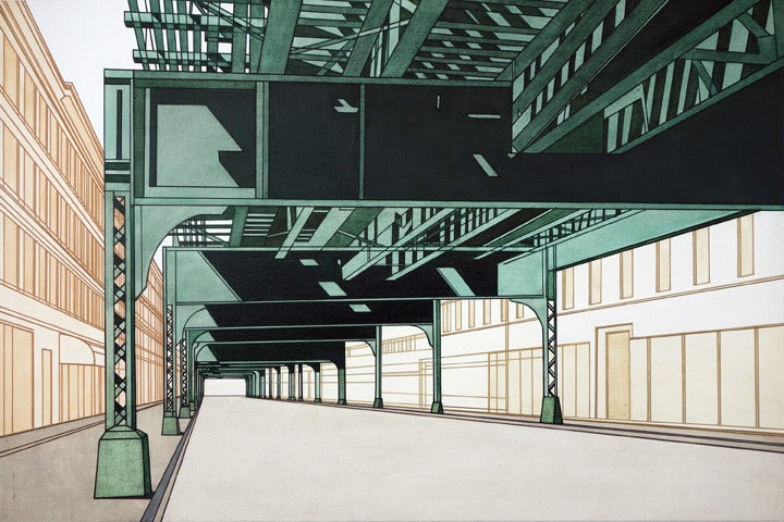 william steiger elevated ii painting for sale at 1stdibs