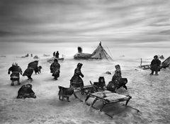 Nenets, an indigenous nomadic people
