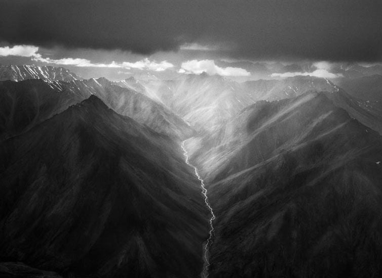 Sebastião Salgado - The Eastern Part of the Brooks Range, Alaska. USA. 1