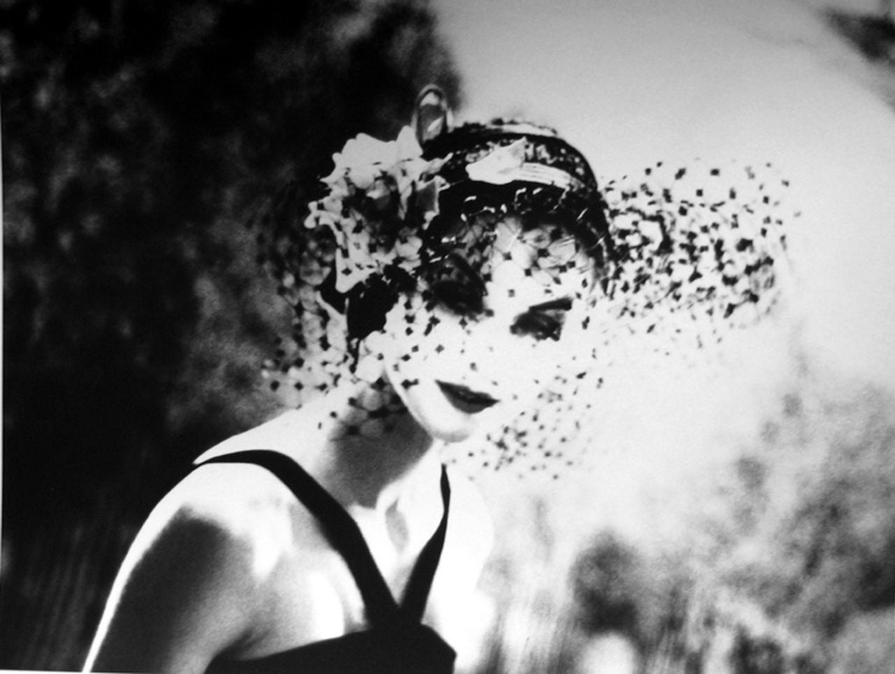 Anne Saint-Marie, New York, Chanel Advertising Campaign - Photograph by Lillian Bassman