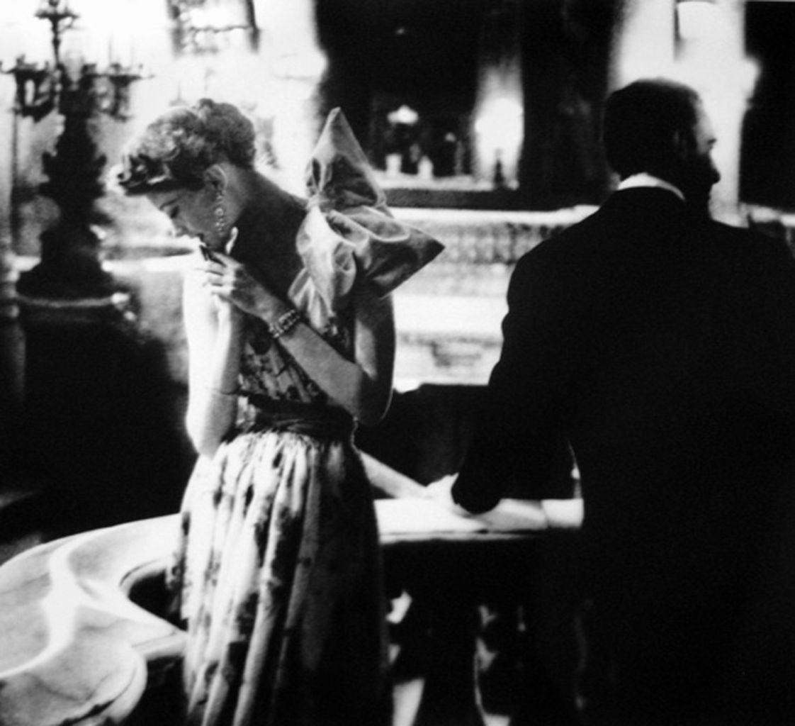 Paris Gala Night, Barbara Mullen in Dress by Patou, Paris, Harper's Bazaar
