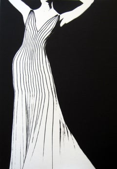 Dress by Thierry Mugler, German Vogue