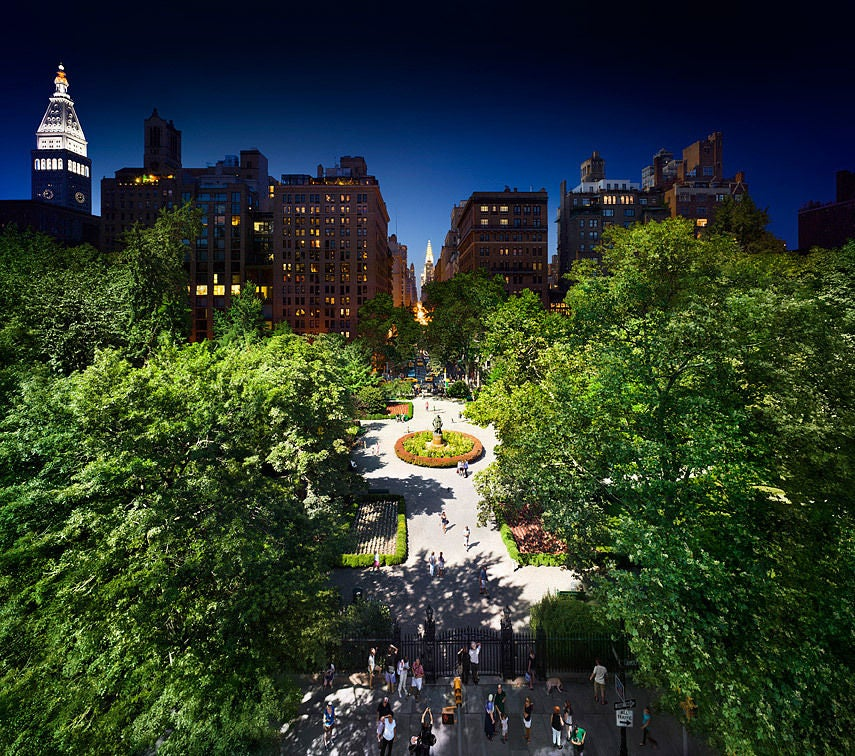 Stephen wilkes gramercy park photograph for sale at for Gramercy park for sale