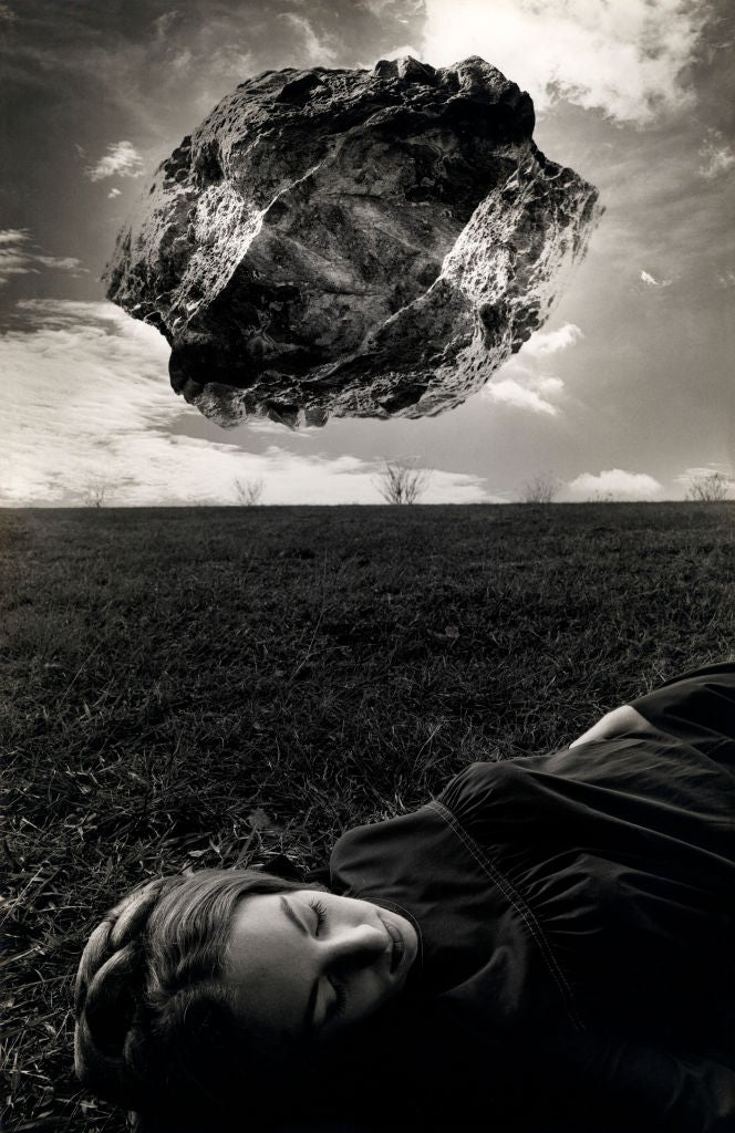 Jerry Uelsmann Magritte S Touchstone Photograph At 1stdibs