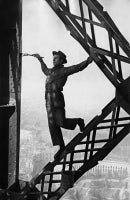 Painter of the Eiffel Tower, Paris