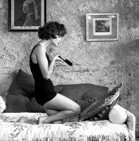 Georges Dambier - Marie Helene Arnaud Cap d?Antibes Mirror