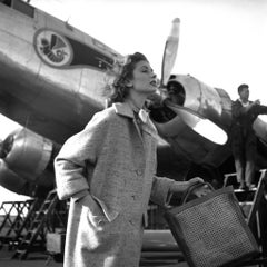 Suzy Parker Casablanca Airport Magazine Elle