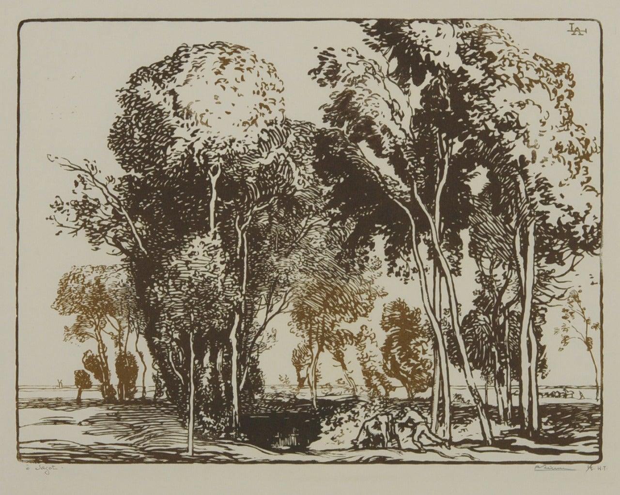 L'Abreuvoir (The Watering Trough)