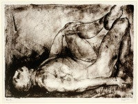 Man on His Back, Nude