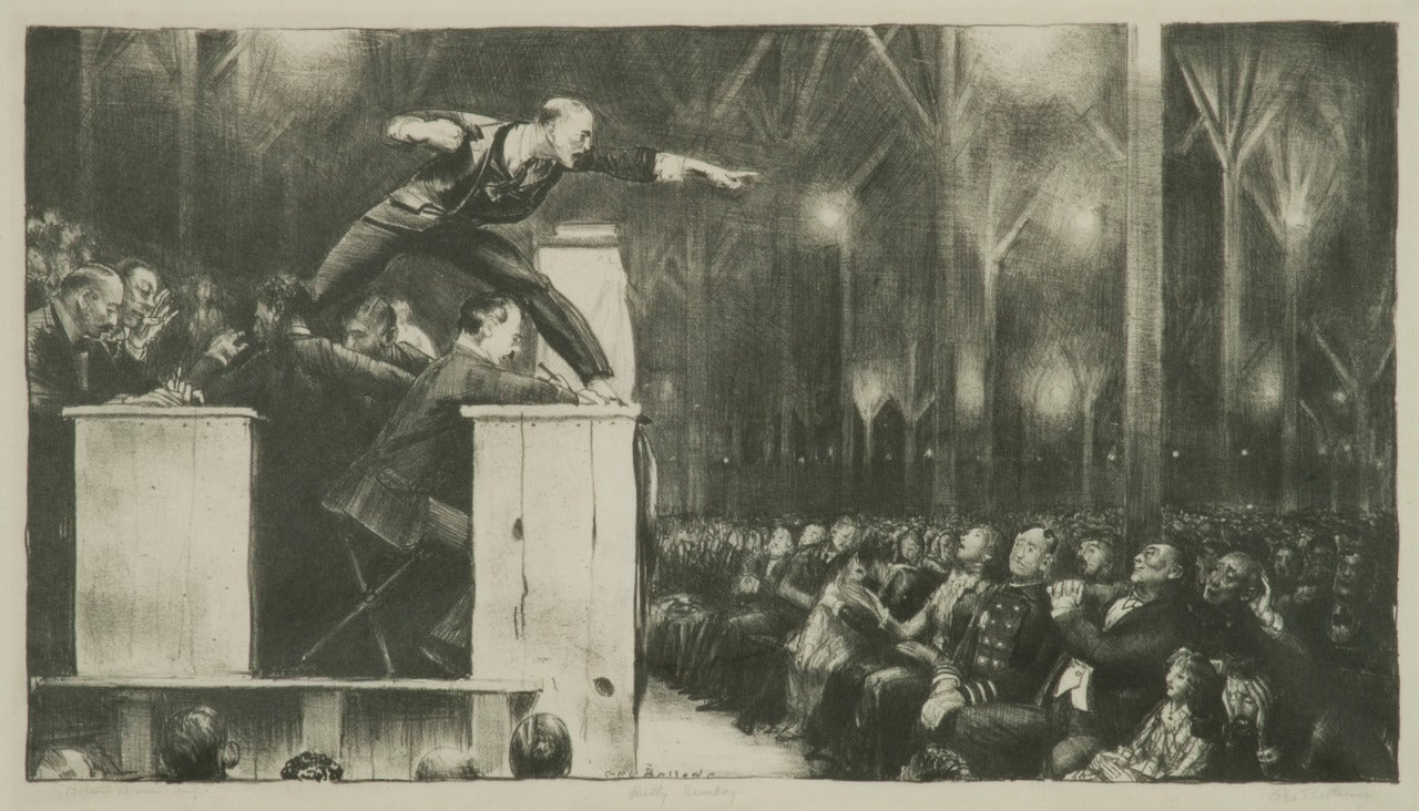 an essay on billy sunday The leadership assessment of billy graham  billy graham knows and shows that god is not a sunday, once a week, event  billy chinook essay billy chinook hidden .