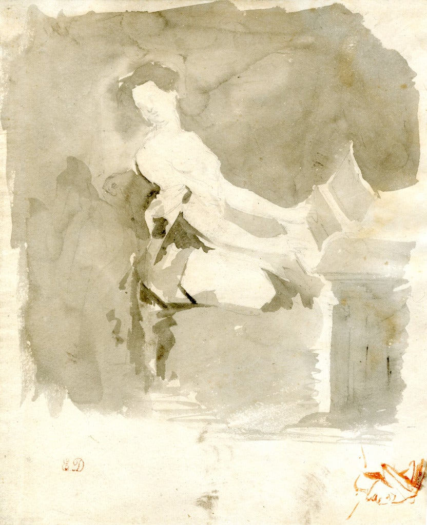 Eugène Delacroix - L'Inspiration