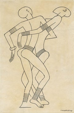 "Figure Study for ""Batouala"""
