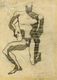 Untitled (Kneeling Male Nude)