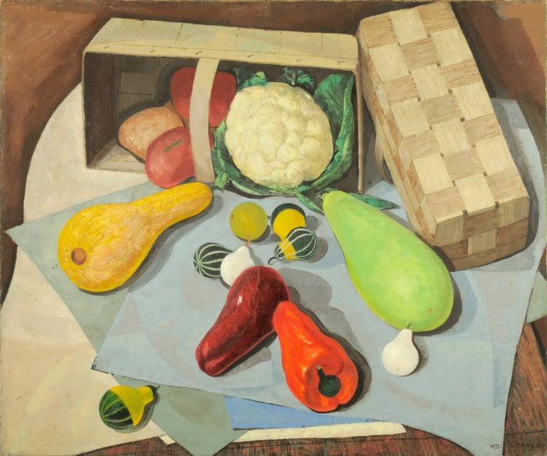 William C. Grauer Still-Life Painting - Farmers' Market Still Life