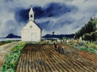Untitled (The Church and the Plow)