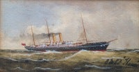 """""""Royal Mail Steam Packet Thames"""""""