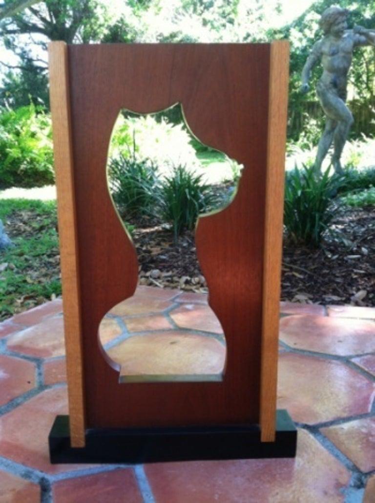 """Female Silhouette"" - Sculpture by Dana Clark"