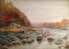 """Wooden River Bridge"""