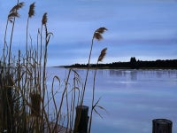 Winter on Three-Mile Harbor, East Hampton