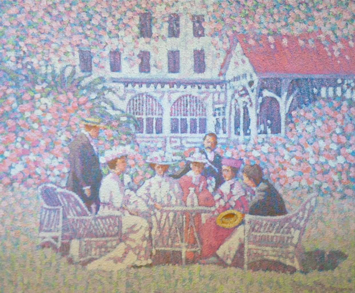 Henry Benson Garden Party At 1stdibs