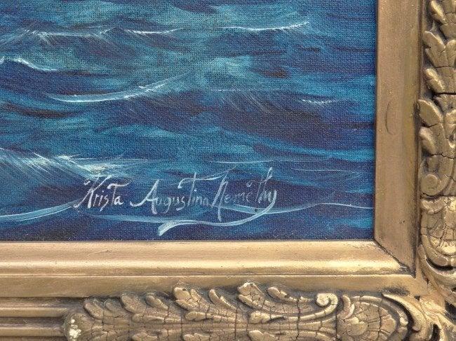 """Northwest"" - Painting by Krista Augustina Nemethy"