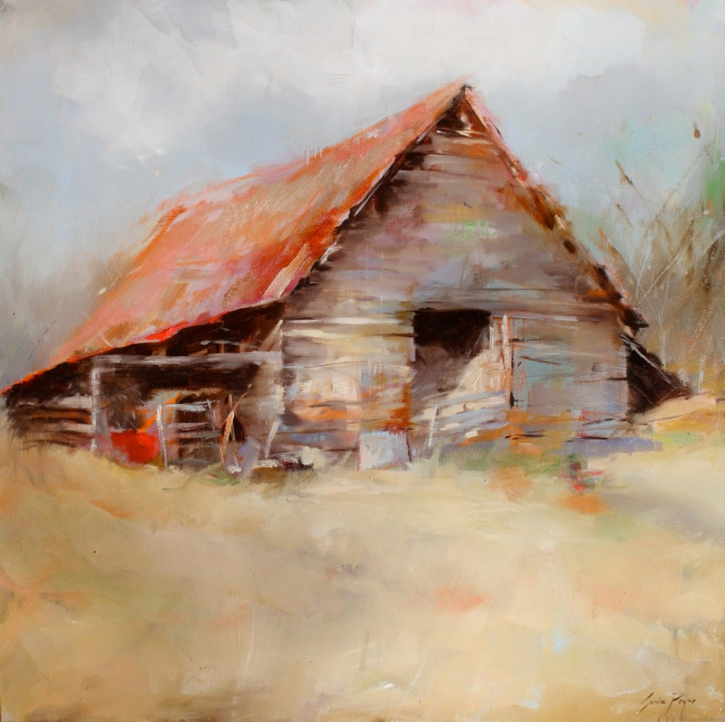 Susie pryor remember painting at 1stdibs for Watercolor barn paintings
