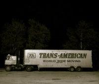 Truck, Highway 66, Ludlow, California, 1972