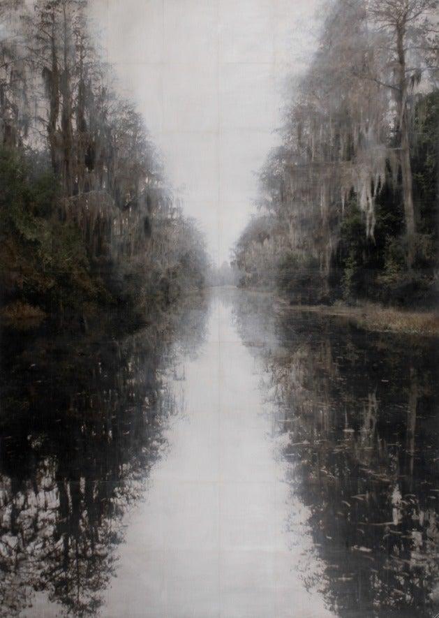 John Folsom Landscape Print - Creeper Lagoon #9