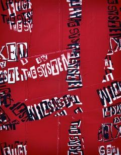Revolution est une entreprise Redux (black, whiteon red))