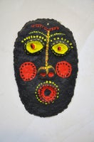 Urban Primitive Mask (black, red and yellow)