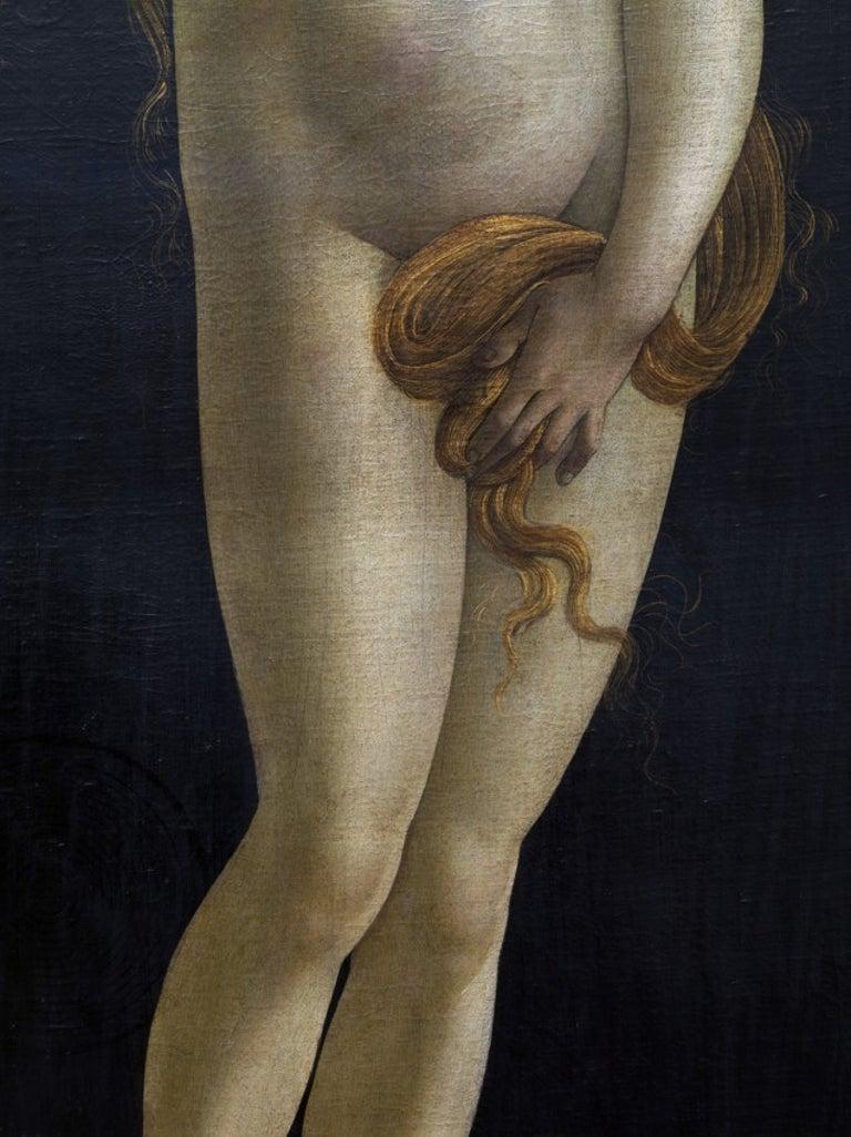 Reinhard Görner Figurative Photograph - DETAIL FROM: VENUS, SANDRO BOTTICELLI WORKSHOP, PAINTING GALLERY BERLIN (2 size)