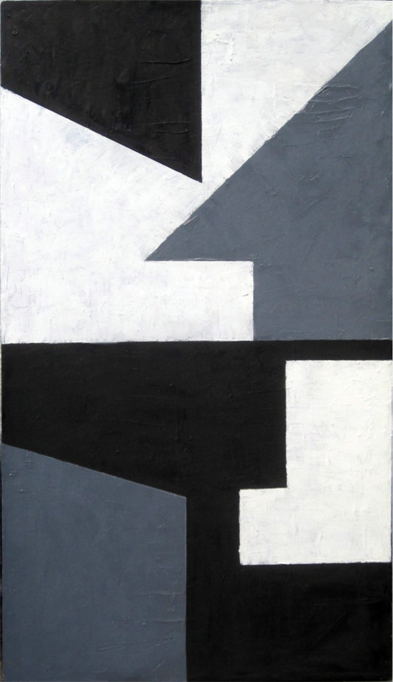 Robert Petrick Abstract Painting - Negative Space #10