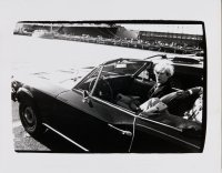 Andy Warhol in Convertible