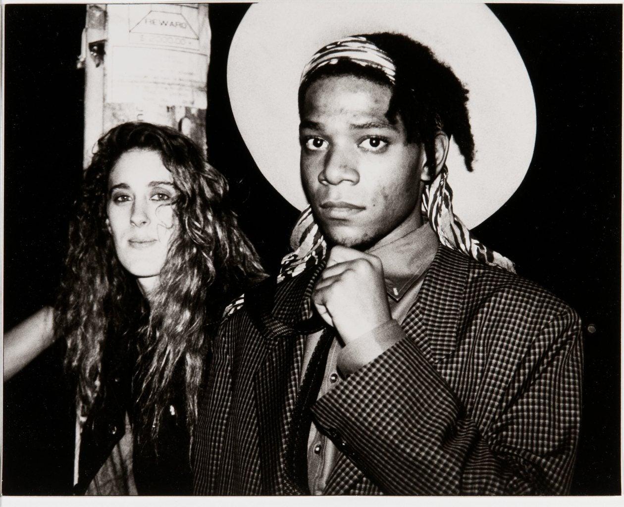 Andy Warhol Jean Michel Basquiat And Jennifer Goode