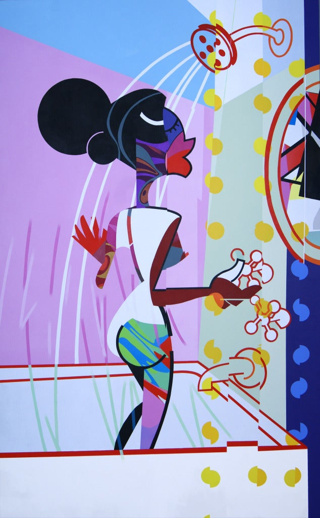 "Jose Palacios, ""Ducha - Shower"", 2013"
