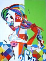 Mujer Peinandose (Woman Brushing Hair)