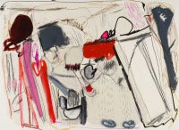 Xavi Carbonell, Untitled, 2012, Mixed media on paper