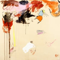 Xavi Carbonell, Untitled, 2012, Mixed media on canvas