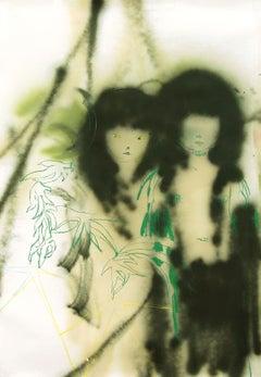 Eduardo Infante, Hidden between the leaves - Ocultas entre las hojas, 2012
