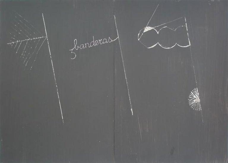 Tres banderas - Mixed Media Art by Aurelio Ayela