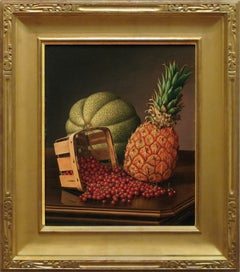 """Table Top Still Life with Fruit"""