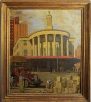The Old Stock Exchange, Philadelphia 1956