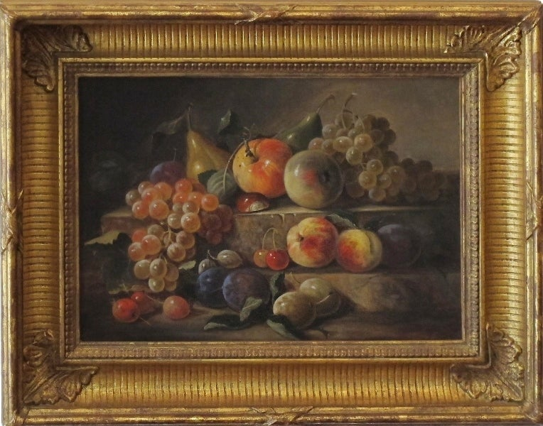 """""""Two Tier Still Life with Fruits"""""""